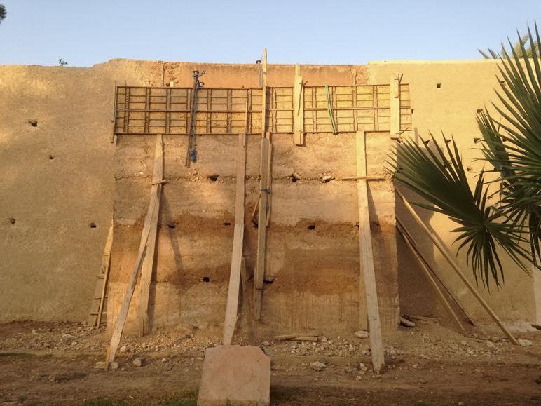 B tir en terre crue pour une valorisation des ressources naturelles constr - Construction maison en terre crue ...