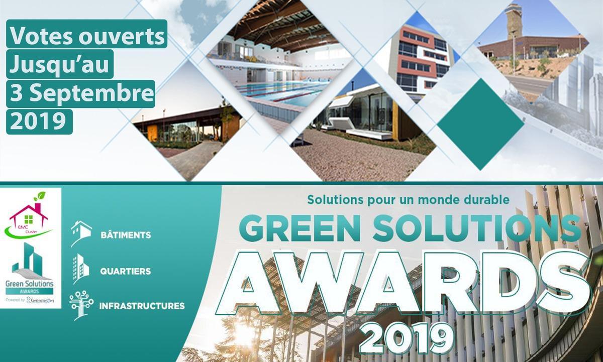 Découvrez les candidats du Green Solutions Awards Des bâtiments présentant des solutions innovantes et durables