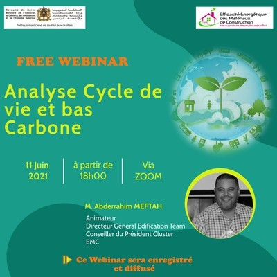 [Webinar Cluster EMC : Analyse Cycle de Vie et Empreinte Carbone]
