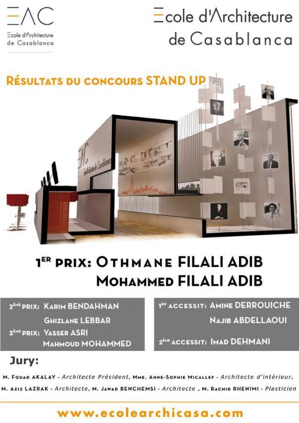 r sultats du concours stand up construction21. Black Bedroom Furniture Sets. Home Design Ideas